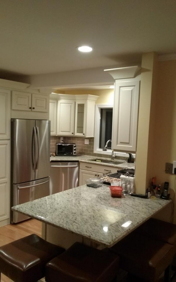 Stratford CT White Kitchen