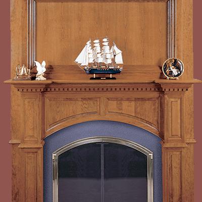 ashby fireplace mantel