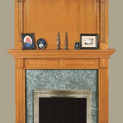 chesapeake fireplace mantel