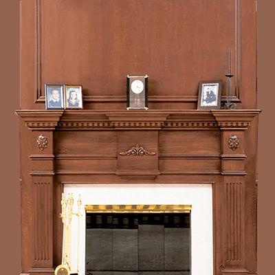 devonshire fireplace mantel