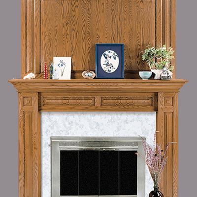 edgewood fireplace mantel
