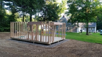 Build a shed for more room